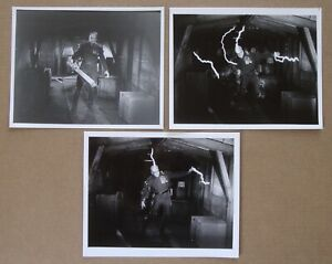THE THING FROM ANOTHER WORLD James Arness LOT of 3 PHOTOS