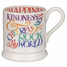EMMA BRIDGEWATER Rainbow Toast Kindness & Cheerfulness 1/2 Pint Mug NEW