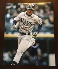 B.J. Melvin UPTON  AUTOGRAPHED SIGNED 8x10 PHOTO TAMPA BAY RAYS Braves