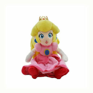 Super Mario Bros. Princess Peach Pink Plush Doll Stuffed Animal Toy Girls Gifts