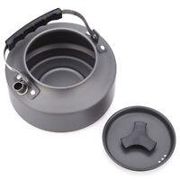 1.1L Outdoor Picnic Tea Pot Camping Fire Stove Tea Kettle Jug Cook Set
