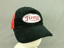 Mini Cooper Jump Hat Cap Adjustable Snapback Mesh Trucker Terry Cloth Red Black
