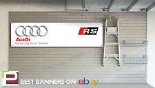 Audi RS Workshop Garage Banner, TT, RS3, RS4, RS5, RS6, RS7, R8