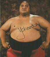 Yokozuna ( WWF WWE ) Autographed Signed 8x10 Photo REPRINT