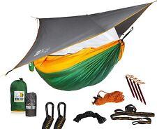 Ryno Tuff Camping Hammock with Mosquito Net And Rain Fly - Double Hammock