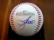 JIM THOME INDIANS PHILLIES TWINS HOF SIGNED AUTO 2017 POSTSEASON BASEBALL USASM