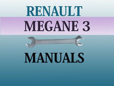 Renault Megane 3 workshop manual service repair