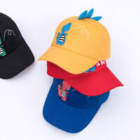 Cartoon Dinosaur Baby Hat Baseball Cap Summer Boy Girl Sun Hat Kids Snapback