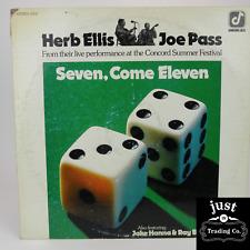 Herb Ellis & Joe Pass - Seven, Come Eleven Live 1974 lp CJ-2 Jazz - EX