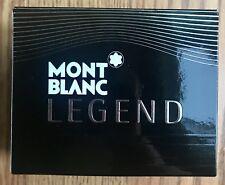 New Legend By Mont Blanc Eau De Toilette Spray For Men 1 oz Cologne