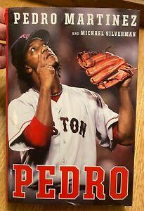 PEDRO MARTINEZ BOSTON RED SOX SIGNED PEDRO BOOK