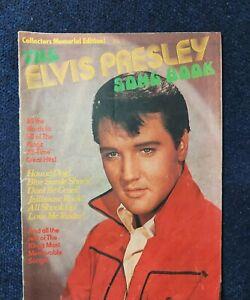 Elvis presley song book  magazine