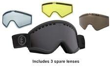NEW Electric EGV Matte Black Tropic Jet ski snowboard goggles + lenses Msrp$165
