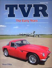 TVR The Early Years by Peter Filby - Grantura Trident Griffith - superb book