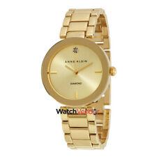 Anne Klein Champagne Dial Ladies Watch 1362CHGB