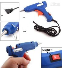 HOT MELT GLUE GUN TRIGGER ELECTRIC 20W ADHESIVE STICKS FOR HOBBY CRAFT MINI DIY