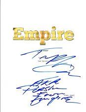Ta'Rhonda Jones Signed Autographed EMPIRE Pilot Episode Script COA VD
