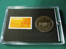 Prince Edward Island,  1873-1973,  Canada,  Commemorative, Stamp & Coin Set