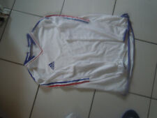 maillot foot et hand ball equipe de france vintage blanc t  L adidas