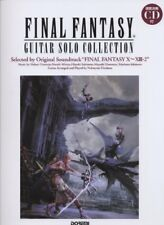Final Fantasy X ~ XIII-2 Guitar Solo Sheet Music Japanese Score Book w/ CD
