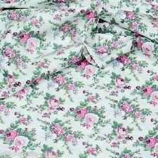 Baumwollstoff Rosen 800 Baumwolle Stoffe Meterware Patchwork Blumenstoff EN 71-3