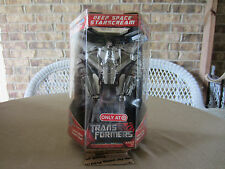 Transformers 2007 movie Decepticon Deep Space Starscream Metallic Finish MISB