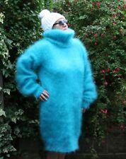 Hand Knitted-Lujo Hayfield 80% Mohair Vestido Jersey De Invierno XL