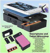Neu Mikroskop für Smartphones vom Handy direkt in die Cloud Multifunktion
