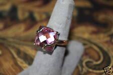 Esposito Designer ring 925 SS solitaire design sz 7.25