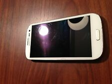 *BAD ESN* White Samsung Galaxy S III (Sprint) -Poor Condition!-  100% functional