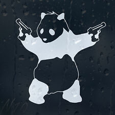 Bad Panda Banksy Car Or Laptop Window Windscreen Body Panel Decal Vinyl Sticker