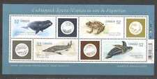 Canada 2007 Frog/Whale/Turtle/Fish 4v m/s (n24314)