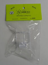 Blade MCP X KBDD White Heavy Duty Landing Gear Skid V2 #5080 - 3 Pack