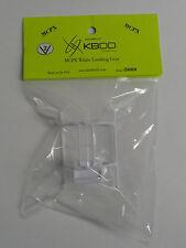 Blade MCP X KBDD White Heavy Duty Landing Gear Skid V2 #5080
