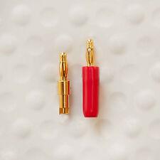 DH Labs B-8C high quality solder or crimp Banana plug DIY 8 AWG Set of 4