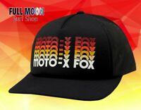 New FOX Moto X Dragaway Womens Snapback Trucker Hat Cap