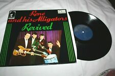 RENE' AND HIS ALLIGATORS-REVIVED-NEAR MINT HOLLAND PRESS