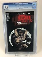Sin City: Hell and Back # 1 CGC 9.6 NM+ (1999 Dark Horse) WP Rare, Hard to Find!