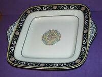 Wedgwood Runnymede W4472 SQUARE HANDLED CAKE / SANDWICH / BREAD & BUTTER PLATE