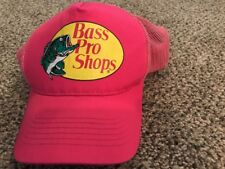 BRAND NEW! Bass Pro Shops Mesh Fishing Hat Ladies - Pink