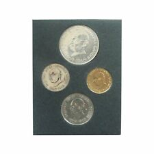 Republic of India Mahatma Gandhi 1969 Centenary 4 Coins Set INCL. 1 RARE SILVER