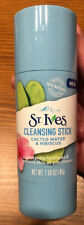St Ives Cleansing Stick Cactus Water & Hibiscus 1.59oz New