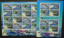 Grenada 2007 WWF Delphine Dolphins Meerestiere 5925 5928 Kleinbögen MNH