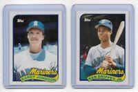 1989 Topps Traded Baseball Boxed Set 1T-132T ~ Ken Griffey RC #57T Randy Johnson