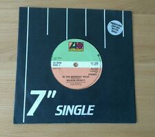 """RARE Wilson Pickett In The Midnight Hour UK 7"""" With Promo Sticker R&B Soul A1B1"""