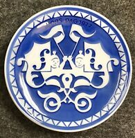 Royal Copenhagen Mors Dag Mothers Day Gift 1977 Blue Plate She Shed Denmark TPC