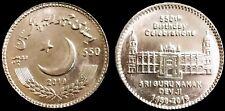 Pakistan 2019 Commemorative Coin Sikh Sri Guru Nanak Dev Ji