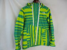 VTG The North Face Jacket Cryptic Coat Women's Small Ski Winter Green Yellow Sm