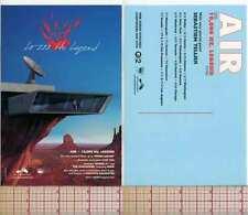 AIR 10,000 HZ LEGEND MOON SAFARI MUSIC FLYER POSTER POSTCARD