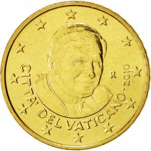 [#49530] Cité du Vatican, 50 Euro Cent, 2010, FDC, Laiton, KM:387